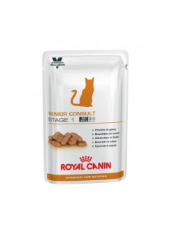 Royal Canin VET Care CAT Wet Senior Consult Stage 1 12x100g