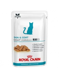 Royal Canin VET Care CAT Wet Skin & Coat 12x100g