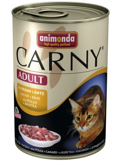 Animonda CARNY® cat Adult kura a kačica