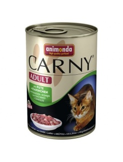 Animonda CARNY® cat Adult morka a králik