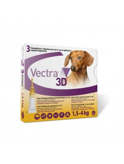 VECTRA 3D spot-on (1,5-4 kg)