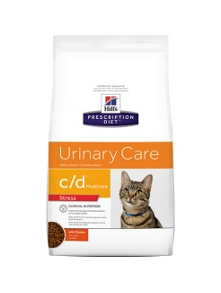 HILLS Diet Feline c/d Urinary Stress Chicken Dry
