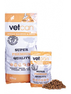 Vetcan Adult  Salmon & Rice