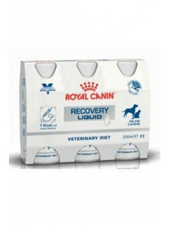 Royal Canin Vet Diet Fel / Can Recovery Liquid 3x200ml