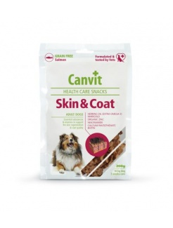 Pamlsok Canvit Health Care dog Skin & Coat Snack 200 g