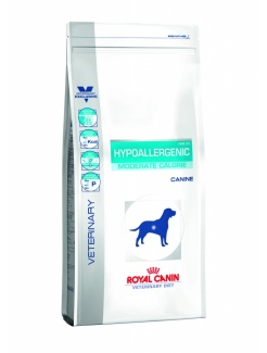 Royal Canin Vet Diet Dog Hypoallergenic Moderate Energy