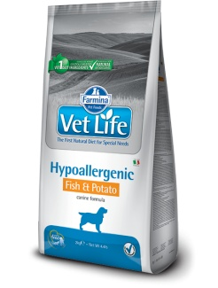 Farmina Vet Life dog Hypoallergenic fish & potato