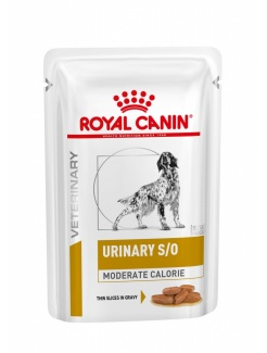 Royal Canin Dog Urinary S/O Moderate Calorie 12x100g