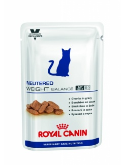 Royal Canin Vet Care Wet Cat Neutered Weight Balance 12x100g
