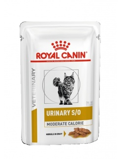 Royal Canin Cat Urinary Moderate Calorie pouch 12x85g