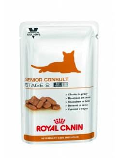 Royal Canin VET Care CAT Wet Senior Consult Stage 2 12x100g