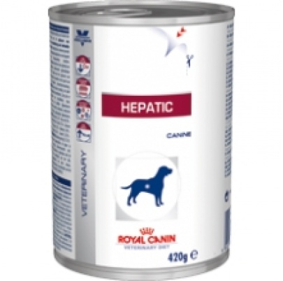 Royal Canin Dog Hepatic HF konzerva 420 g