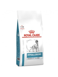 Royal Canin Vet Diet Dog Hypoallergenic Moderate Calorie
