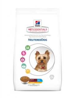HILLS VE Canine Adult Neutered Small & Mini Chicken 1,5 kg