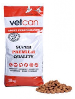 Vetcan Adult  Performance 15 kg