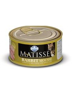 Farmina MATISSE cat Rabbit pena konzerva 85 g